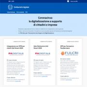Solidarietà digitale promossa dal Ministero dell'Innovazione