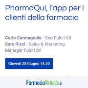 Webinar on FarmaciaVirtuale 25/06/2020