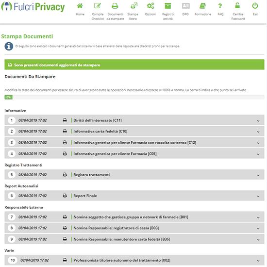 """Aggiornamento del tool Fulcri Privacy """"Coronavirus"""""""